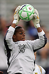 30 August 2009: Karina LeBlanc (23)(LA) of the WPS All-Stars. The WPS All-Star team defeated the visiting Umea IK 4-2 in the first annual post season All-Star game of the Women's Professional  Soccer league at Anheuser-Busch Soccer Park, in Fenton, MO.