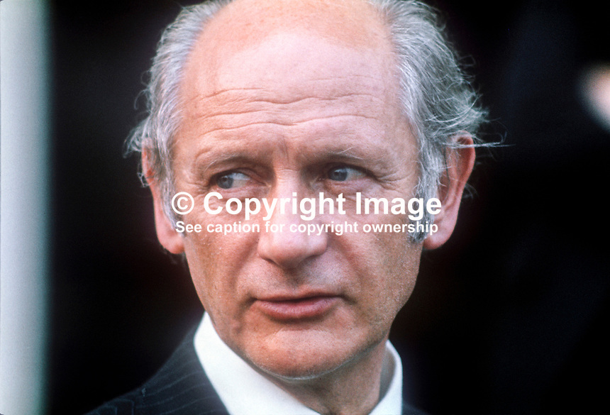 Jack Lynch, Taoiseach, Prime Minister, leader, Fianna Fail, Rep of Ireland, July, 1978, 1978070087<br />