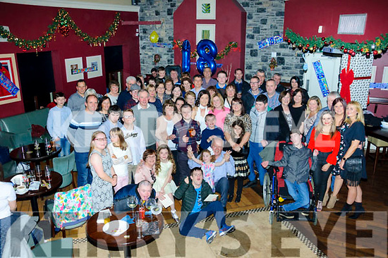 JP O'Brien from Kilflynn celebrated his 18th birthday by having a fantastic party with his family and friends at O'Donnell's Bar and Restaurant, Mounthawk on Saturday night.
