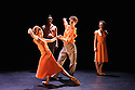 London, UK. 18.06.2015. English National Ballet presents CHOREOGRAPHICS, an evening of new work from emerging and developing choreographers, in the Lilian Baylis studio at Sadler's Wells. This piece is FRACTURED MEMORY, choreographed by Max Westwell. The dancers are: Laurretta Summerscales, Madison Keesler, Katja Khaniukova, Jinhao Zhang, Daniele Silingardi, Junor Souza. Photograph © Jane Hobson.