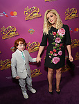 Jane Krakowski and Bennett Godley attends the Broadway Opening Performance of 'Charlie and the Chocolate Factory' at the Lunt-Fontanne Theatre on April 23, 2017 in New York City.