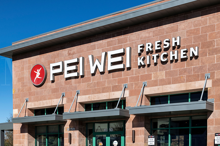 Pei Wei Asian Kitchen is an American restaurant chain serving Pan Asian dishes, Kissimmee, Florida, USA.