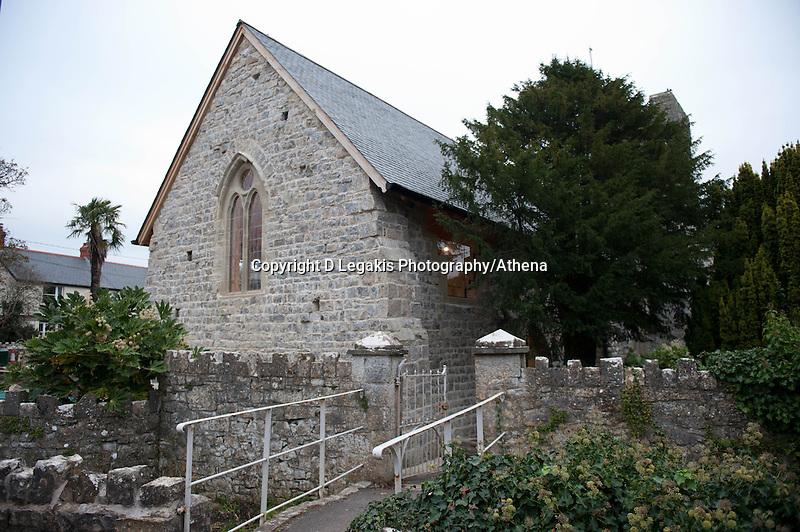 Thursday 28 November 2013<br /> Pictured: St.Illtysd's church in Llandwit Major <br /> Re: Builder Lee Mayes