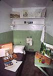 Artist's cell at Alcatraz Island, GGNRA