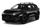 2020 Chevrolet Blazer RS 5 Door SUV Angular Front automotive stock photos of front three quarter view