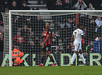 Bournemouth's Joshua King shows his frustration after missing a penalty to just his team in the lead<br /> <br /> Photographer David Horton/CameraSport<br /> <br /> The Premier League - Bournemouth v Wolverhampton Wanderers - Saturday 23 February 2019 - Vitality Stadium - Bournemouth<br /> <br /> World Copyright © 2019 CameraSport. All rights reserved. 43 Linden Ave. Countesthorpe. Leicester. England. LE8 5PG - Tel: +44 (0) 116 277 4147 - admin@camerasport.com - www.camerasport.com