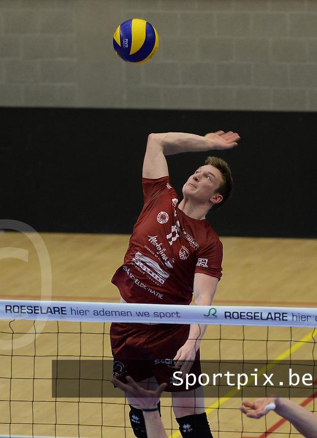 Precura Antwerpen : Seppe Baetens <br /> foto VDB / BART VANDENBROUCKE