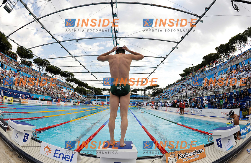Roma 2nd August 2009 - 13th Fina World Championships From 17th to 2nd August 2009....Swimming finals..The training....photo: Roma2009.com/InsideFoto/SeaSee.com