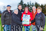 The family of the late Brendan O'Leary launching his memorial walk which will be held in Kilcummin on Sunday 16th February in aid of Kerry Hospice l-r:Jim McCarthy, Teresaa Bruton, Padraig O'Sullivan, Una O'Leary, Robert Keane and Noreen Nagle