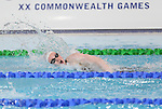 Glasgow 2014 Commonwealth Games<br /> Women's 100m Freestyle heats<br /> Mari Davies (Wales)<br /> Tollcross Swimming Centre<br /> 27.07.14<br /> &copy;Steve Pope-SPORTINGWALES