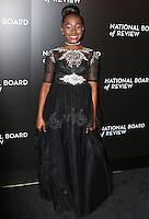 www.acepixs.com<br /> <br /> January 4 2017, New York City<br /> <br /> Royalty Hightower arriving at the 2016 National Board of Review Gala at Cipriani 42nd Street on January 4, 2017 in New York City. <br /> <br /> By Line: Nancy Rivera/ACE Pictures<br /> <br /> <br /> ACE Pictures Inc<br /> Tel: 6467670430<br /> Email: info@acepixs.com<br /> www.acepixs.com