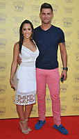 Janette Manrara and Aljaz Skorjanec at the TWG Tea London gala flagship store launch party, TWG Tea Salon &amp; Boutique, Leicester Square, London, England, UK, on Monday 02 July 2018.<br /> CAP/CAN<br /> &copy;CAN/Capital Pictures