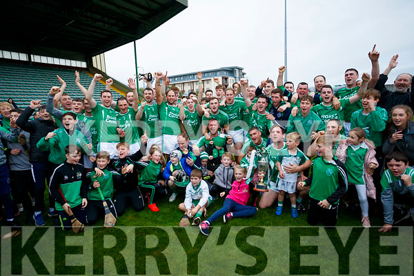 Ballyduff players celebrating after the Senior County Hurling Final in Austin Stack Park on Sunday
