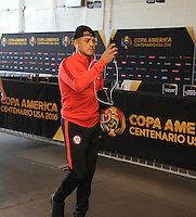 Philadelphia, PA - Tuesday June 14, 2016: Alexis Sanchez prior to a Copa America Centenario Group D match between Chile (CHI) and Panama (PAN) at Lincoln Financial Field.