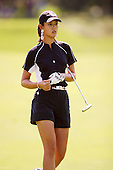 August 21, 2004; Dublin, OH, USA;  14 year old amateur Michelle Wie walks up to the green during the 3rd round of the Wendy's Championship for Children golf tournament held at Tartan Fields Golf Club.  <br />Mandatory Credit: Photo by Darrell Miho <br />&copy; Copyright Darrell Miho