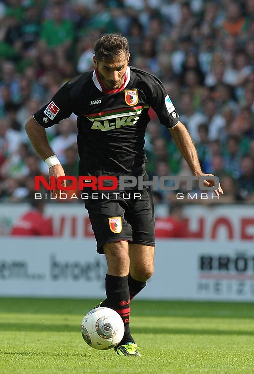 17.08.2013, Weserstadion, Bremen, GER, 1.FBL, Werder Bremen vs FC Augsburg, im Bild Halil Altintop (Augsburg #7)<br /> <br /> Foto &copy; nph / Frisch