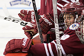 Jack Suter (UMass - 10) - The Boston University Terriers defeated the University of Massachusetts Minutemen 3-1 on Friday, February 3, 2017, at Agganis Arena in Boston, Massachusetts.The Boston University Terriers defeated the visiting University of Massachusetts Amherst Minutemen 3-1 on Friday, February 3, 2017, at Agganis Arena in Boston, MA.
