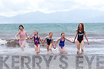 Enjoying the Ballyheigue Summer Festival week on Monday. Pictured Emily Rogers, Lucy Griffin, Jane Rogers, Molly McGrath, Roisin McGrath
