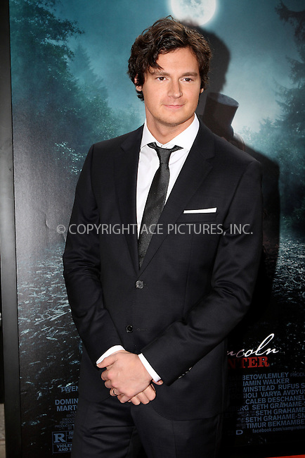WWW.ACEPIXS.COM . . . . .  ....June 18 2012, New York City....Benjamin Walker arriving at the 'Abraham Lincoln: Vampire Hunter' premiere at AMC Loews Lincoln Square on June 18, 2012 in New York City. ....Please byline: NANCY RIVERA- ACEPIXS.COM.... *** ***..Ace Pictures, Inc:  ..Tel: 646 769 0430..e-mail: info@acepixs.com..web: http://www.acepixs.com