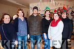 Colette McCarthy, Jennifer Murphy, Risteard Smith, Siobhan O'Shea, Catherine O'Sullivan, Caroline O'Shea at the Lauragh Christmas Fair on Sunday.