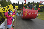 The publicity caravan during Stage 9 of the 104th edition of the Tour de France 2017, running 181.5km from Nantua to Chambery, France. 9th July 2017.<br /> Picture: ASO/Bruno Bade | Cyclefile<br /> <br /> <br /> All photos usage must carry mandatory copyright credit (&copy; Cyclefile | ASO/Bruno Bade)