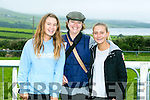 Enjoying the Dingle Races at Ballintaggart Racecourse on Saturday were -r  Lilly Alsop, Melissa Alsop and Jessica Maddox on holidays in Ireland all the way from California