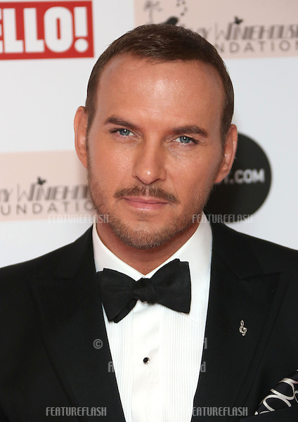 Matt Goss arriving at the The Amy Winehouse foundation ball held at the Dorchester hotel, London. 20/11/2012 Picture by: Henry Harris / Featureflash