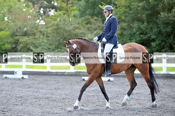 Class 4. Novice 28. Unaffiliated Dressage. Norton Heath Equestrian Centre. Essex. 09/08/2014. MANDATORY Credit Ellie Ingram/Sportinpictures - NO UNAUTHORISED USE - 07837 394578