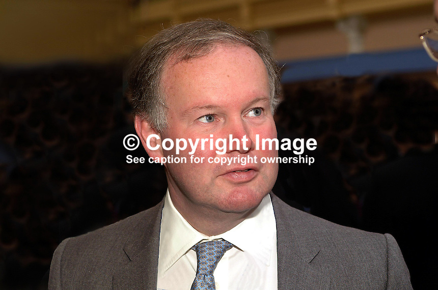 Charles Hendry, MP, Conservative Party, England, Britain, UK, Annual Conference in Blackpool. Ref: 200110104276...Copyright Image from Victor Patterson, 54 Dorchester Park, Belfast, UK, BT9 6RJ..Tel: +44 28 9066 1296.Mob: +44 7802 353836.Voicemail +44 20 8816 7153.Skype: victorpattersonbelfast.Email: victorpatterson@mac.com.Email: victorpatterson@ireland.com (back-up)..IMPORTANT: If you wish to use this image or any other of my images please go to www.victorpatterson.com and click on the Terms & Conditions. Then contact me by email or phone with the reference number(s) of the image(s) concerned.