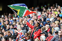 Fans enjoying the atmosphere during Day Two of the iRB Marriott London Sevens at Twickenham on Sunday 11th May 2014 (Photo by Rob Munro)