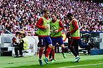 Antoine Griezmann of Atletico de Madrid warming up during the La Liga match between Atletico Madrid and Eibar at Wanda Metropolitano Stadium on May 20, 2018 in Madrid, Spain. Photo by Diego Souto / Power Sport Images