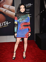 WESTWOOD, CA - FEBRUARY 05: Lana Condor attends the Premiere Of 20th Century Fox's 'Alita: Battle Angel' at Westwood Regency Theater on February 05, 2019 in Los Angeles, California.<br /> CAP/ROT/TM<br /> &copy;TM/ROT/Capital Pictures