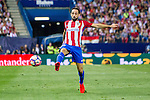 during the match of La Liga Santander between Atletico de Madrid and Deportivo Alaves at Vicente Calderon Stadium. August 21, 2016. (ALTERPHOTOS/Rodrigo Jimenez)
