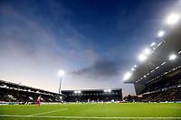 A general view of the second half action under floodlights at Turf Moor<br /> <br /> Photographer Rich Linley/CameraSport<br /> <br /> The Premier League - Burnley v Crystal Palace - Saturday 30th November 2019 - Turf Moor - Burnley<br /> <br /> World Copyright © 2019 CameraSport. All rights reserved. 43 Linden Ave. Countesthorpe. Leicester. England. LE8 5PG - Tel: +44 (0) 116 277 4147 - admin@camerasport.com - www.camerasport.com