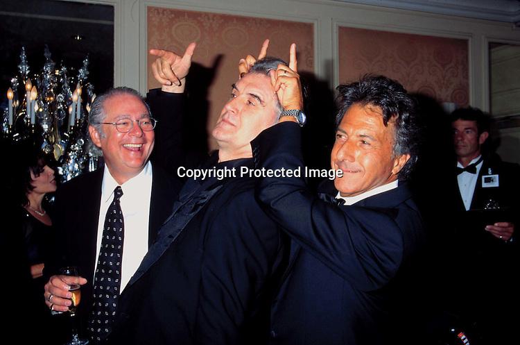 """©KATHY HUTCHINS/HUTCHINS.9/24/97 """" BRITANNIA AWARD"""".BARRY LEVINSON & BILLY CONNOLLY & DUSTIN HOFFMAN"""