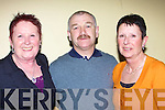SHOW: Frances Grace, Mossie and Ann O'Sullivan Ballyduff having a good night at the Brendan Boyer Show in the Brandon Hotel, Tralee on Sunday night...
