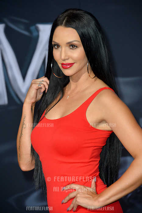 "LOS ANGELES, CA. October 01, 2018: Scheana Shay at the world premiere for ""Venom"" at the Regency Village Theatre.<br /> Picture: Paul Smith/Featureflash"