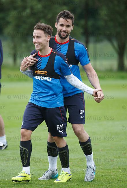 Barrie McKay and Darren McGregor