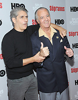NEW YORK, NEW YORK - JANUARY 09: Michael Imperioli and Tony Sirico attends the 'The Sopranos' 20th Anniversary Panel Discussion at SVA Theater on January 09, 2019 in New York City. Credit: John Palmer/MediaPunch