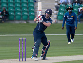 Cricket Scotland - Scotland V Sri Lanka at Kent County cricket ground at Benkenham, in the first of two matches this week, on Sunday (today) and Tuesday - Matty Cross - picture by Donald MacLeod - 21.05.2017 - 07702 319 738 - clanmacleod@btinternet.com - www.donald-macleod.com