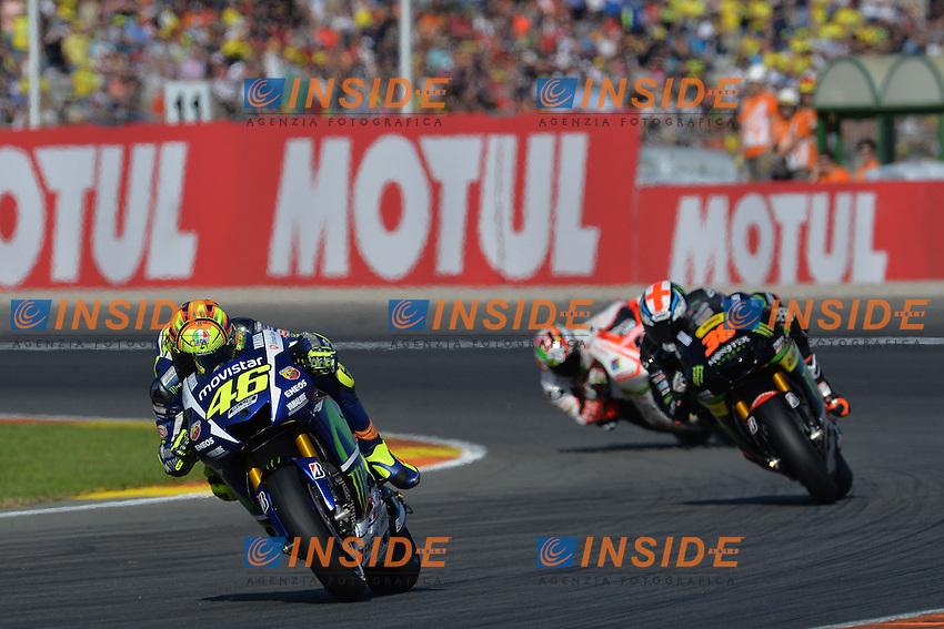 Valencia (Spagna) 08-11-2015 - qualifiche Moto GP / foto Luca Gambuti/Image Sport/Insidefoto<br /> nella foto: Valentino Rossi