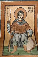 Nestor,wall-painting,South-west chapel,Katholikon Church of St. Luke,11th Century,Osios Loukas Monastery,Greece