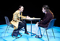 Mosquitoes by Lucy Kirkwood, directed by Rufus Norris and designed by Katrina Lindsay. With Olivia Williams as Alice Mabey, Olivia Colman as Jenny Dent. Opens at The Dorfman Theatre at The Royal National Theatre on 25/7/17.