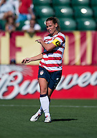 Christie Rampone.  The USWNT defeated Costa Rica, 8-0, during a friendly match at Sahlen's Stadium in Rochester, NY.