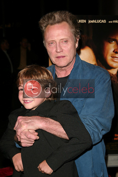Christopher Walken and Jonah Bobo