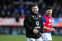 Horacio Agulla of Bath Rugby looks on during the pre-match warm-up. Aviva Premiership match, between Exeter Chiefs and Bath Rugby on February 28, 2016 at Sandy Park in Exeter, England. Photo by: Patrick Khachfe / Onside Images