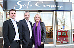 Staff Photo, Sofa Company...Photo NEWSFILE/Jenny Matthews.(Photo credit should read Jenny Matthews/NEWSFILE)....This Picture has been sent you under the condtions enclosed by:.Newsfile Ltd..The Studio,.Millmount Abbey,.Drogheda,.Co Meath..Ireland..Tel: +353(0)41-9871240.Fax: +353(0)41-9871260.GSM: +353(0)86-2500958.email: pictures@newsfile.ie.www.newsfile.ie.FTP: 193.120.102.198.