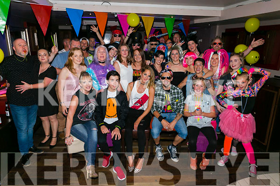 Heather Hannafin, Tralee, celebrating her 40th birthday with family and friends at the Abbey Inn on Saturday