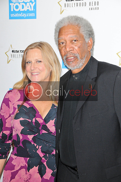 Morgan Freeman and Lori McCreary<br />