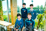 TY students have completed the Tourism Insight programme at the Solas Building on Thursday. Pictured ​St Michael's College, Listowel Bobby Gale, Tim Scanlon, Mikey Kennelly and Fanando Guntes